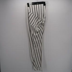 Fashion Nova Love Angel Striped Midi Skirt Size XS